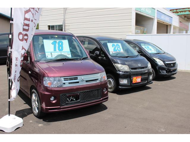 低価格で高品質な中古車を取り揃えております。