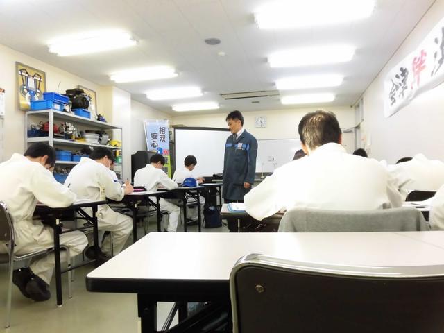 座学の講師もしています。
