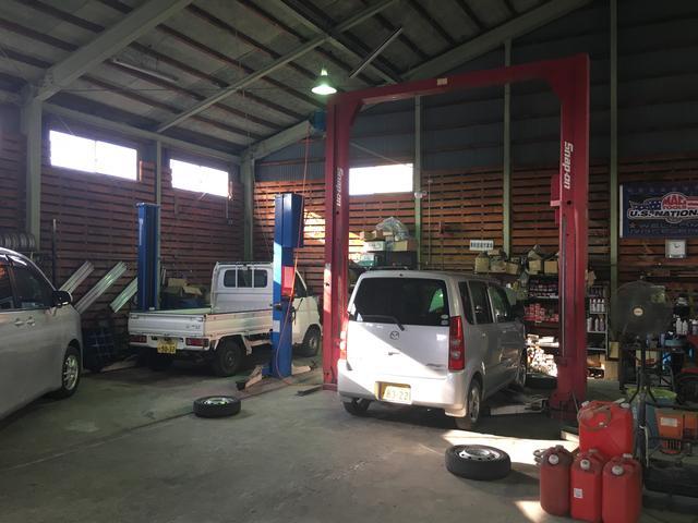 自動車修理屋(5枚目)