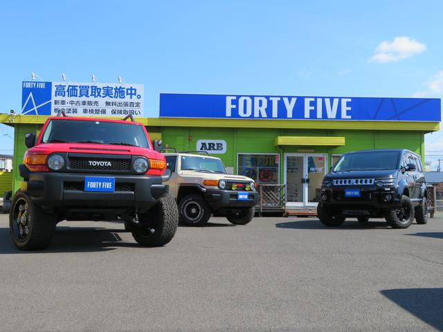 FORTY FIVE フォーティファイブ