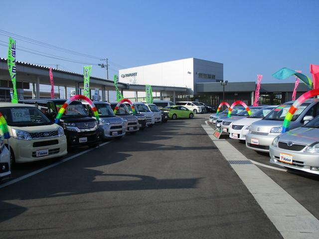 たくさんの展示車をご用意しております。皆さまのお越しをお待ちしております。