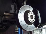 足回りの修理やブレーキのメンテナンスも任せください。