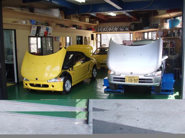 納車前のていねいな整備はもちろん、現在お乗りのお車もご要望に合わせてパーツ装着できますよ!