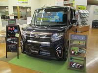 店内には新型車を随時展示しております!!詳細はスタッフまで♪