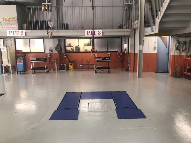 ピット3 パンタ式リフト 能力3.2トン イヤサカ トータスIII