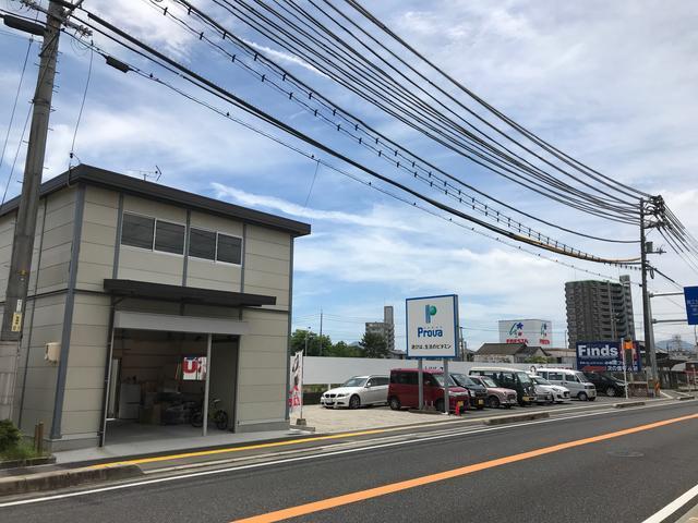 旧国道2号線(宮島街道)沿い、中国醸造さんの隣です。
