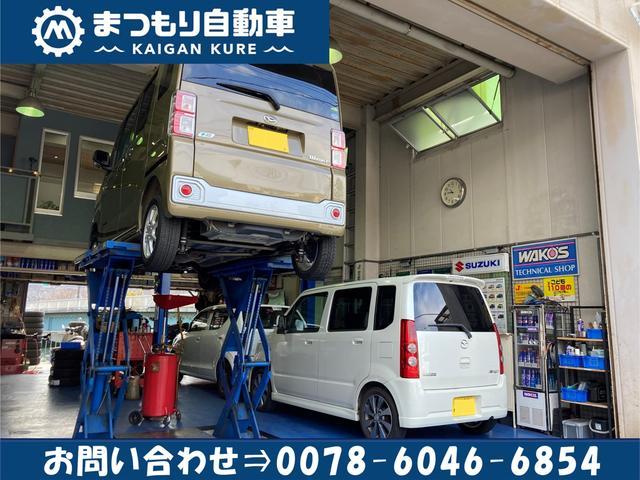 中国運輸局認証車検工場完備!!リフト2基設置してます。国産車故障診断機&タイヤチェンジャーあります!