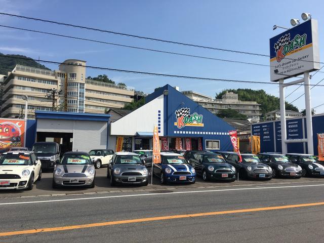 広島市の車検、修理、パーツの持込み取付けなら車検の速太郎アルパーク前店へ!