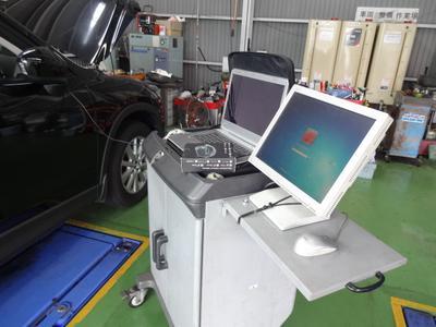 コンピュータ診断機で的確な診断