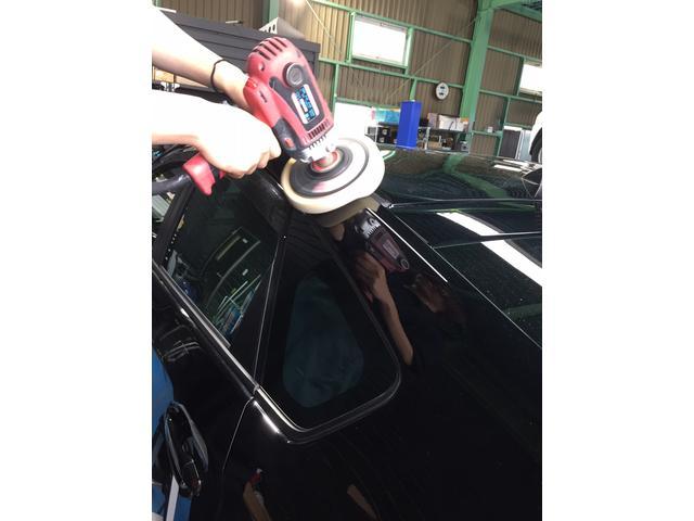 お車のボディ磨き・ガラスコーティング等も行っております☆是非ご相談下さい!