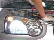 ライトの調整や修理、部品交換もお任せください。