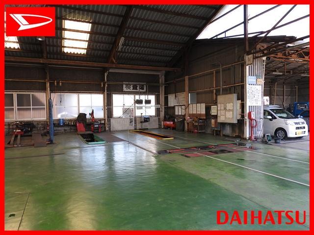 自社指定工場完備で点検・修理・車検はもちろん日々のメンテナンスまでトータルでカーライフをサポート!