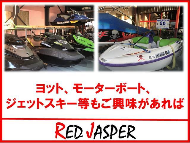 モーターボートやジェットスキーも取り扱っています。ご興味がありましたら♪