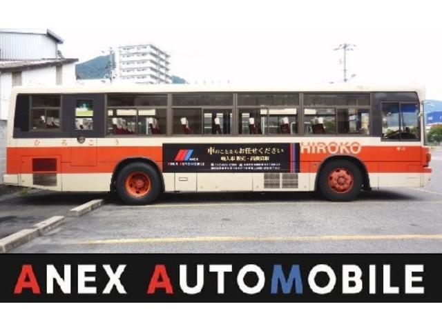路線バス広告看板