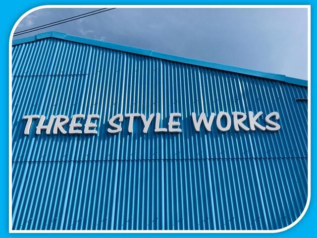 THREE STYLE WORKS
