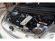エンジンの点検および整備