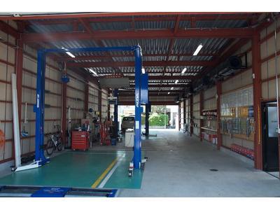 最新の工場設備
