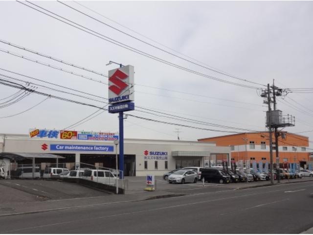 ゆめタウン松永店さんの道路をはさんだ向かい側に店舗&工場があります。