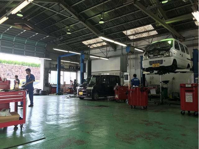 お客様のお車の修理・点検・車検はBINGOグループへ!きっちりとしたお仕事を心がけております。