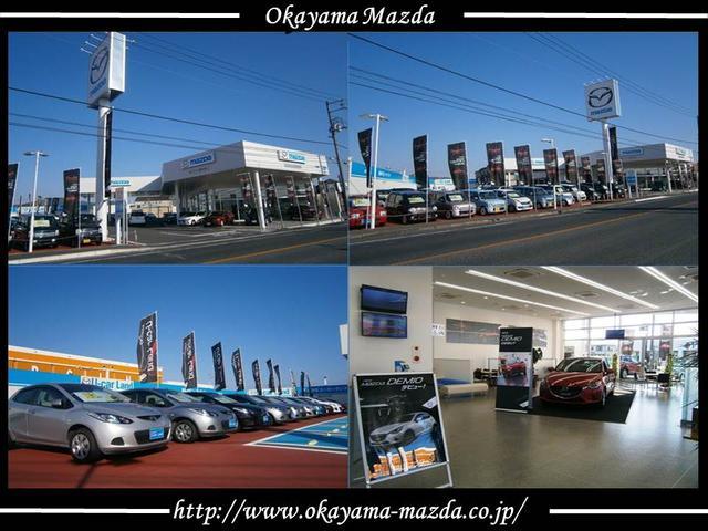 マツダ車を中心に約40台展示しております。倉敷ICや倉敷駅からも近いのでぜひ気軽にお越し下さい♪