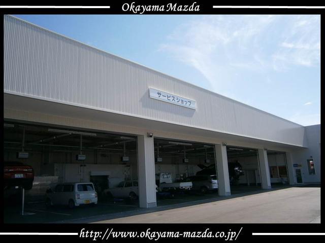 最新の整備工場完備!販売後のアフターサービスも安心。点検・車検等サービスのことも何でもご相談下さい。
