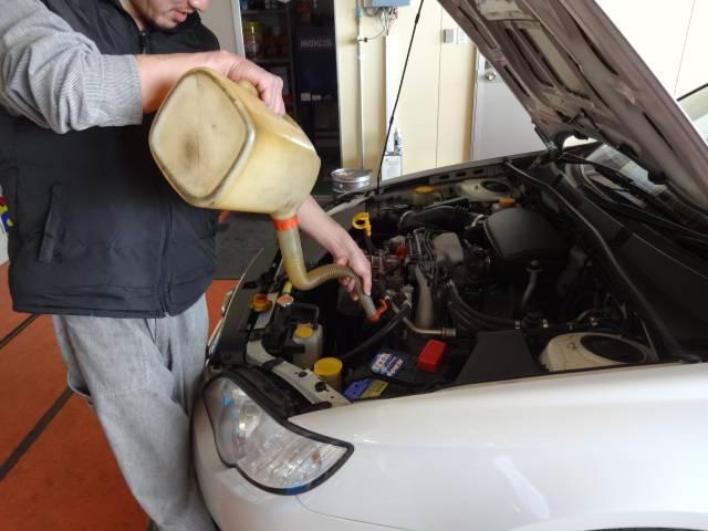 車検整備風景