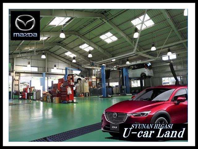 サービス工場も広くて立派♪ここでお客様のお車を整備・点検・修理まで全て行います!