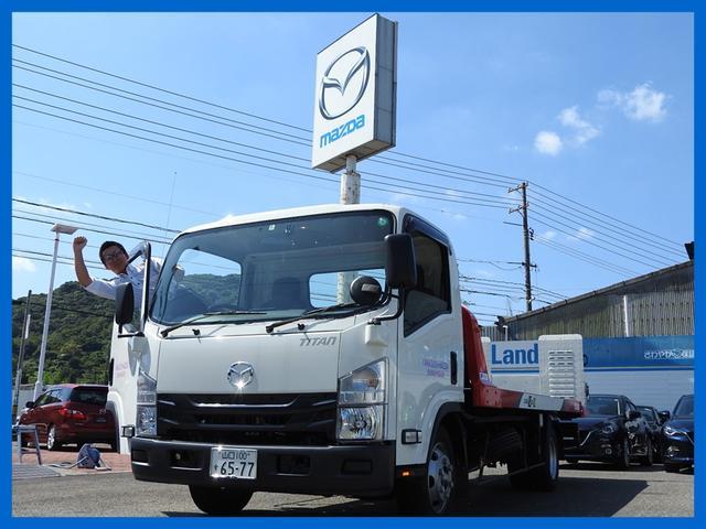 森野II相棒■周南東店の「働くクルマ」 NEW積載車です■