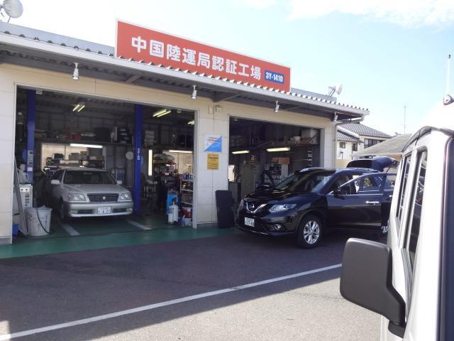 販売も修理、整備、車検も実施する山口の頼れるショップです。
