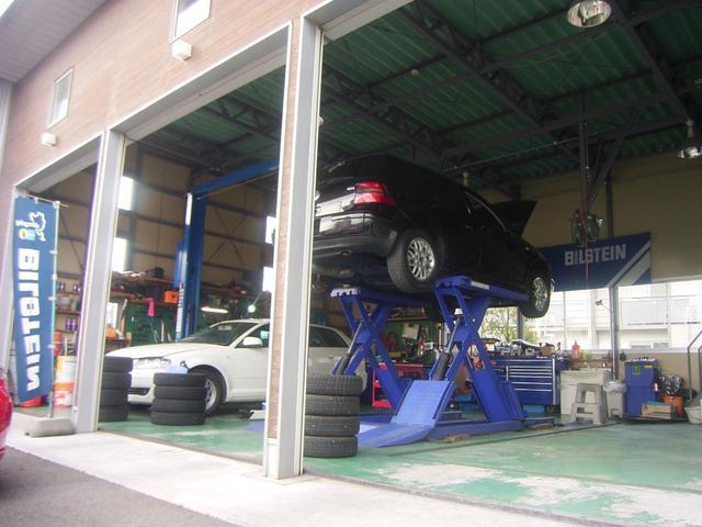 自社工場完備☆納車後も貴方の愛車をしっかりメンテナンス致します♪洗車スペースも完備♪