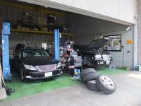 万全の整備でアフターも安心!当社でご購入された車はオイル交換無料です。