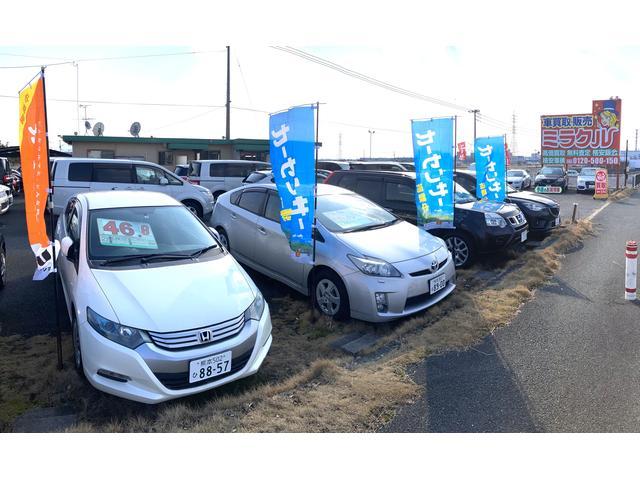 総在庫100台以上!ユーザーさんからの買取り車や、仕入れた新鮮な車が全国から続々入荷!注文販売OK♪