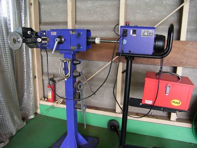 ブレーキローター研磨機