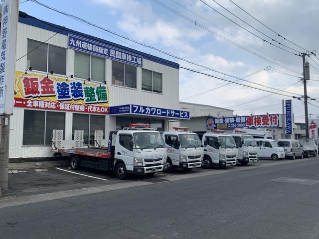 車検、点検、修理、板金塗装にパーツ販売・・・etc安心の指定工場完備です。