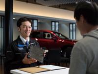 ご購入後もマツダ独自の資格をもったマツダ車のスペシャリストがカーライフをサポートいたします