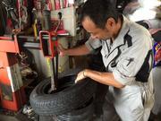 タイヤの組替えも可能!