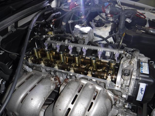 エンジン内のトラブルやクリーニングにも対応してます