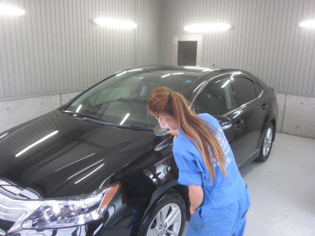 お車の洗車、コーティング、室内のクリーニングも行っております
