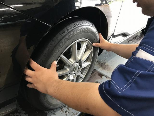 タイヤの販売・取付もお気軽にどうぞ