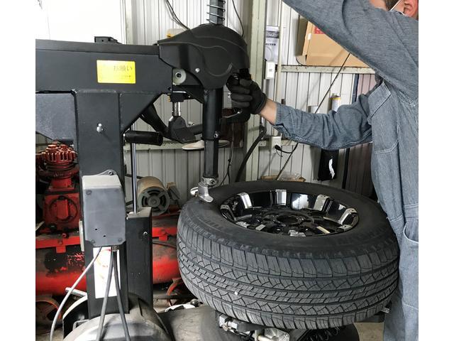 タイヤの組み換えも24インチまでOK!!