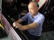 車体整備士 アーク溶接 低圧電気取扱者 鈑金  瀧田 誠