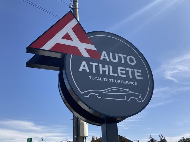 オートアスリートでは車のチューニングやカスタマイズを行っております。溶接のワンシーン。