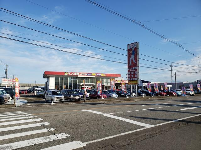 県道44号(旧8号線)沿い「北二ツ屋」交差点側・大阪屋ショップ呉羽店さんの隣です