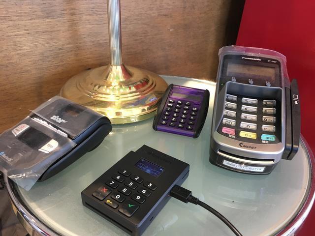 各種カード支払いもOKです