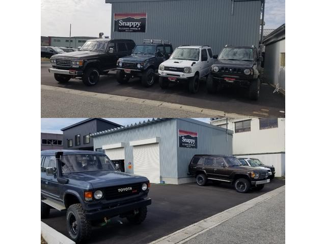 スナッピー 富山 〜ランクル・ジムニー〜 OUTDOOR CAR SHOP