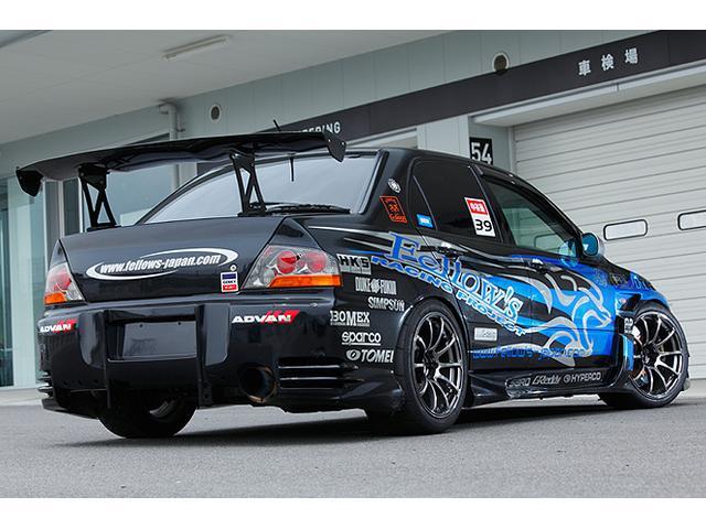 輸入車メインですが技術力向上を目的としたモータースポーツ活動もしています