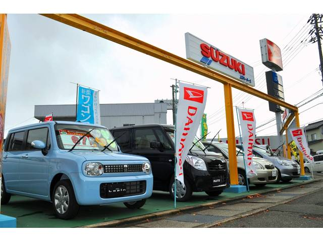 オールメーカー新車から、予算に応じた中古車探しまで幅広いニーズにお応え致します!