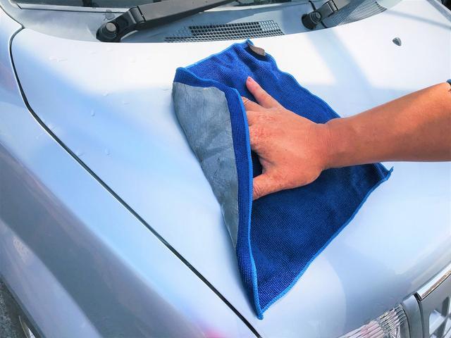 【コーティング1】先ずは車体を洗浄します
