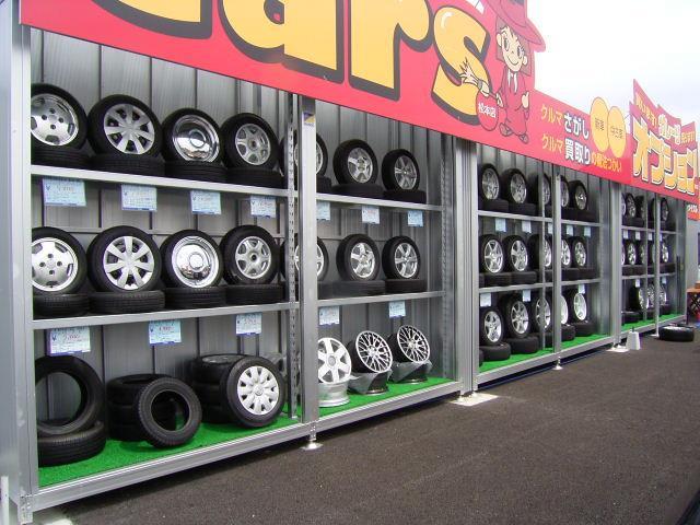 ガレージオプションを併設。全国チェーンの中古カー用品の専門店です。お買得パーツ続々入庫中!買取もOK