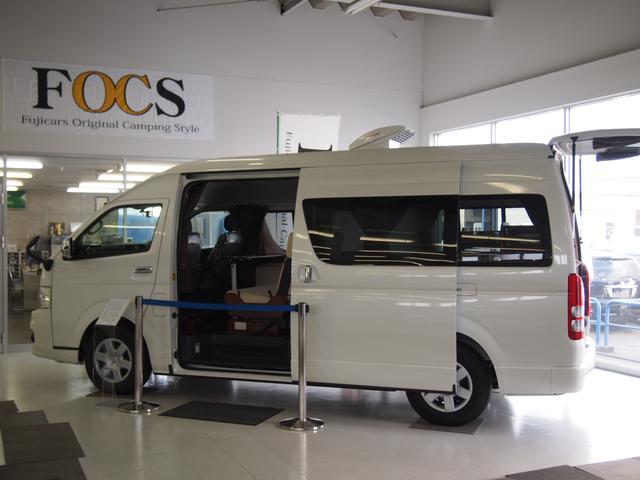 ☆国内自社生産新車キャンピングカーFOCSシリーズ専門店☆